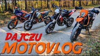 Dajczu MotoVlog #44 - KTM czy Ducati? - Ekipowe latanko na SUPERMOTO