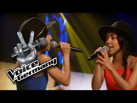 Pendel - Yvonne Catterfeld | Diana & Daniela Alexander | The Voice of Germany 2016 | Blind Audition