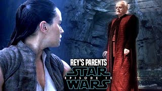 Star Wars Episode 9 Rey's Parents Linked To Palpatine! Leaked Details & Potential Spoilers
