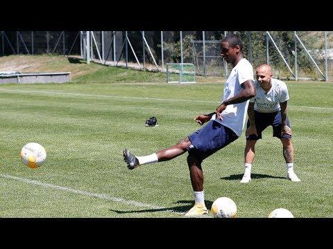 PSV IN VERBIER   Crossbar challenge: Angeliño vs Rosario!