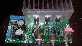 [Bán MĐ] Hướng dẫn lắp đặt và test thử mạch TDA2050A 2.1 cùng mạch USB BLUETOOTH