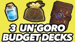 3 Budget Decks That Will Get You Legend! (Un