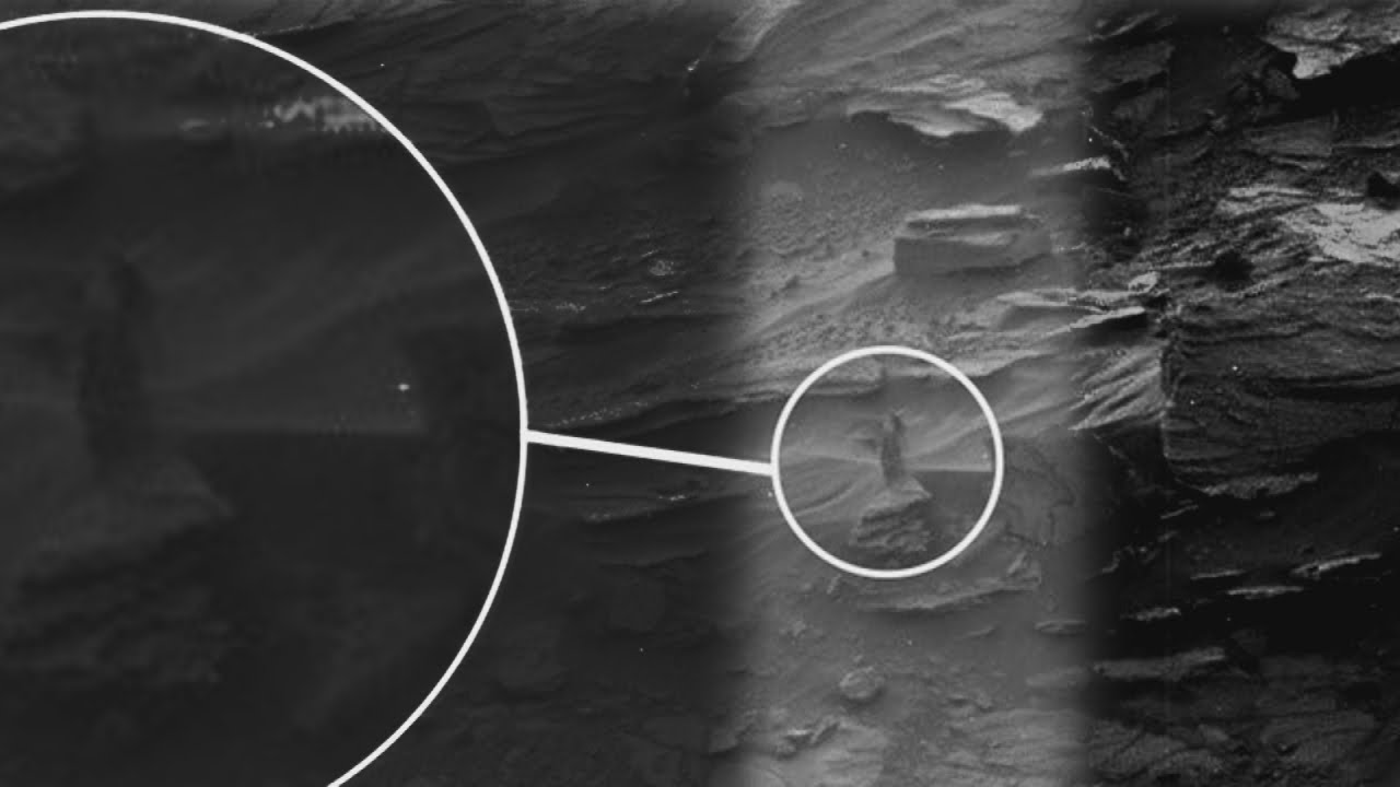 Lady on Mars? Possible sighting of a woman captured on camera