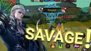 Gameplay Alucard + Savage. Alucard Full Damage 100% And Lifesteal 50% by GamerKita
