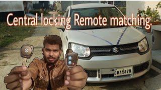 maruti suzuki Central locking Remote programming in hindi.