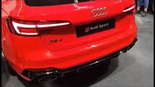 ZAGREB AUTO SHOW 2018: Audi R8 Spyder, RS4 Avant & RS5 - Loud revs!
