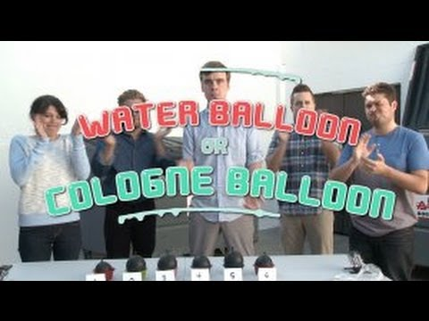 Water Balloon vs. Cologne Balloon (Game Show)