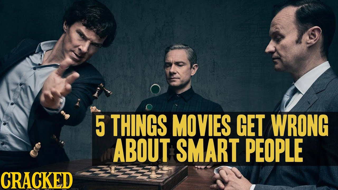 5 things hollywood gets wrong about smart people doovi. Black Bedroom Furniture Sets. Home Design Ideas
