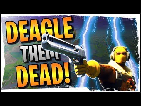 Hysteria  Fortnite  Deagle them Dead!  Insane Hand Cannon Plays