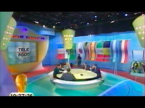 Frédéric Jaillant lance le dernier Téléfoot de la coupe du monde 98