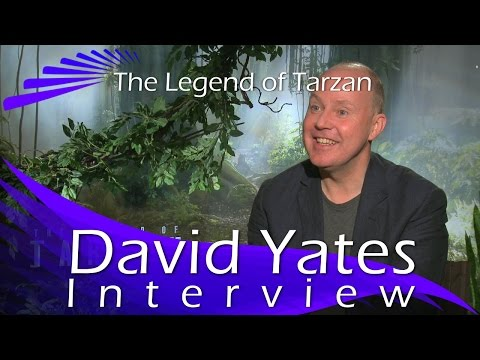 The Legend of Tarzan -  David Yates Interview (Director)