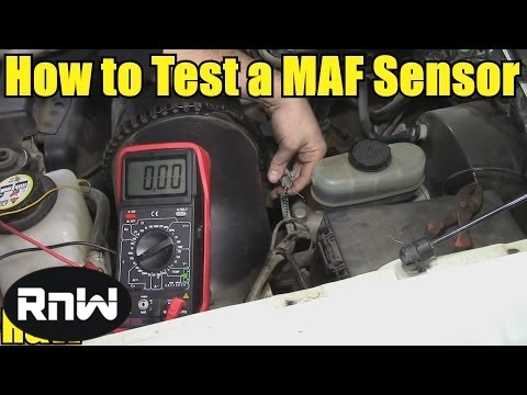how to test a mass air flow maf sensor without a wiring diagram rh youtube com