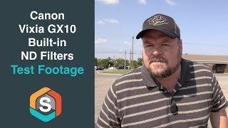 Canon Vixia GX10 built in ND Filter test footage