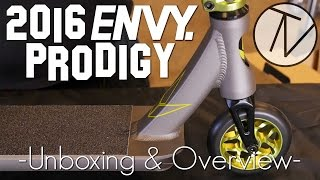 2016 Envy Prodigy Complete - Unboxing and Overview │ The Vault Pro Scooters