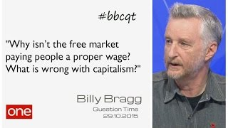 Billy Bragg: What is wrong with capitalism? (Question Time 29 October 2015)