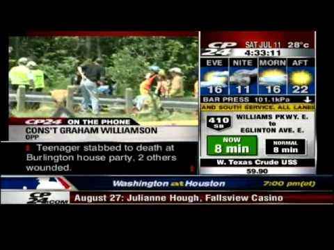 "CP24 - Cons't Graham Williamson OPP...calls Bus Driver "" Asshole"""