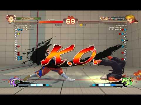 Ultra Street Fighter IV battle: Chun-Li vs Ken