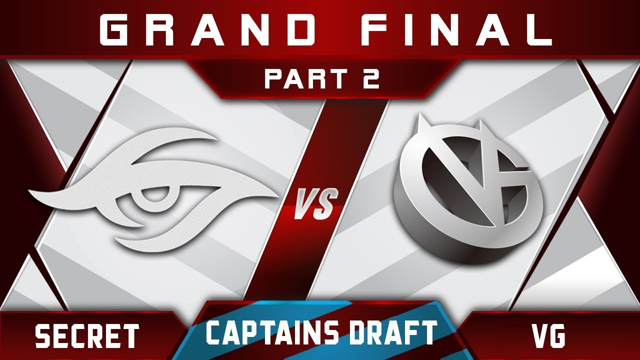 Secret vs VG [EPIC] Grand Final Captains Draft 4.0 Highlights Dota 2 - Part 2