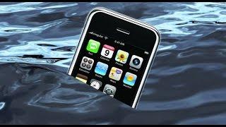 Що робити якщо залив смартфон водою. Інструкція до дії