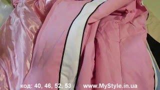 Видео обзор Куртки осенние женские код52,53,46,40