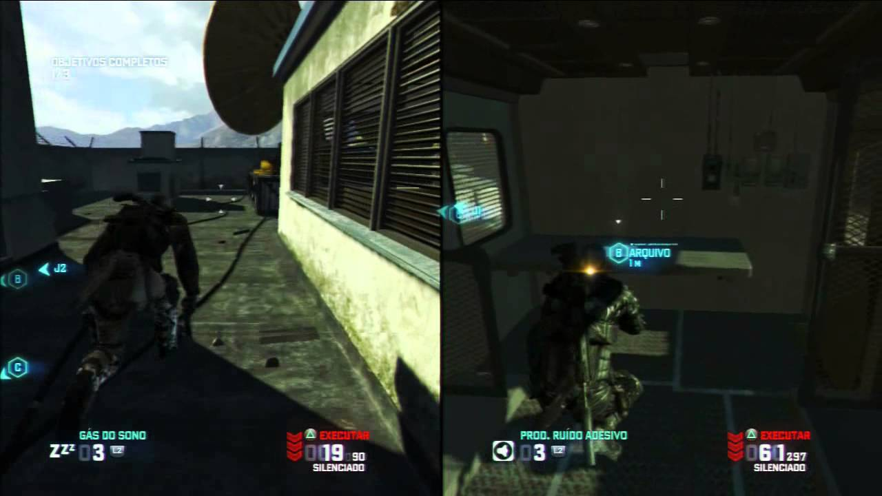 Splinter Cell BlackList Co-op \\ Missão 2 // Dupla de Elite  HD