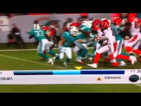 Shawn williams block on punt