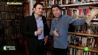 Joaquín Sabina nos enseña su casa mientras habla sobre sus aficiones - laSexta Noche