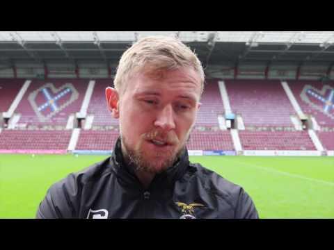 CaleyJagsTV : Richie Foran Match Reaction v Hearts : 20/08/16