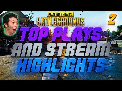 PLAYERUNKNOWN'S BATTLEGROUNDS - Top Plays and Stream Highlights #2