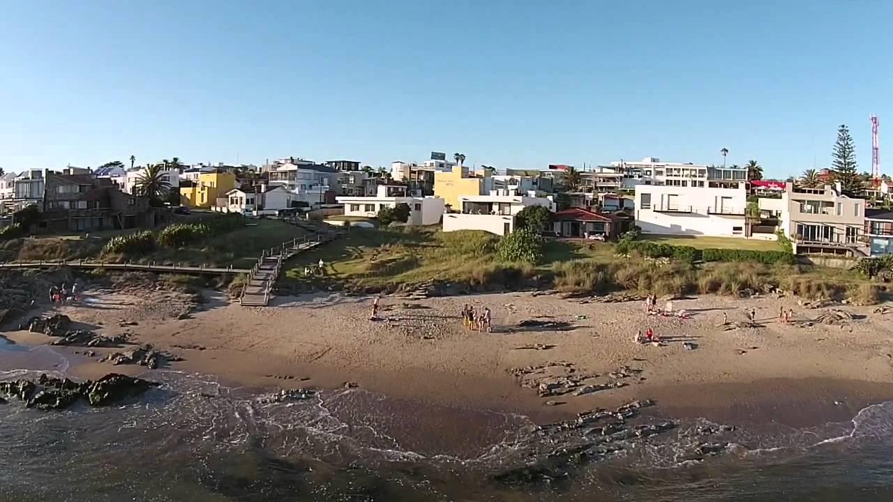 Punta Del Este La Barra Playa La Posta Del Cangrejo Drone Youtube