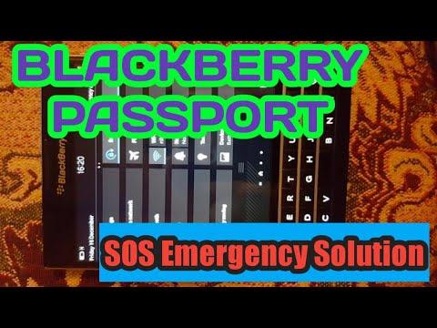 Trik Mengatasi SIM Card Tidak Terbaca/Emergency Di BlackBerry Passport