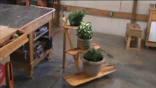 The Knockdown Plant Stand