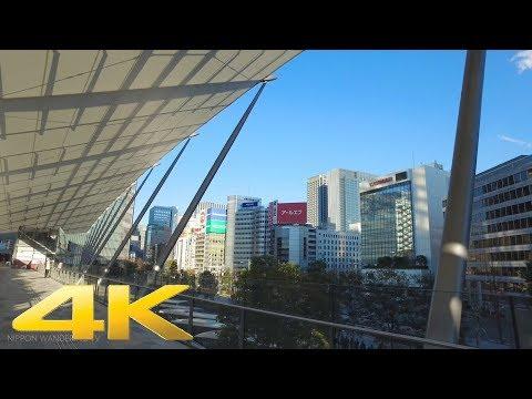 Tokyo station Yaesu gate GRANROOF - Long Take【東京・東京駅八重洲口グランルーフ】 4K