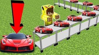 ARABA FABRİKASI YAPIYORUZ! - Minecraft