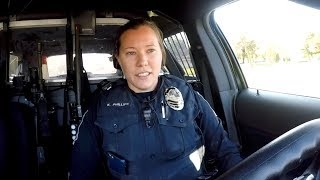 Ride Along with Cottage Grove Police Officer Katie Phillips