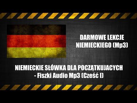 NIEMIECKIE SŁÓWKA DLA POCZĄTKUJĄCYCH - Fiszki Audio MP3 (Szybka Nauka Słówek).