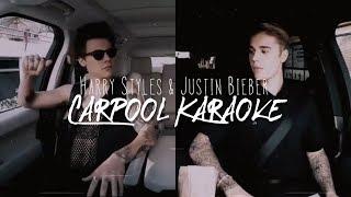 Harry Styles & Justin Bieber Carpool Karaoke