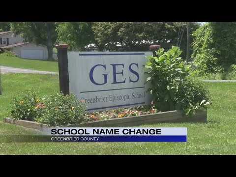Greenbrier Episcopal School changes name