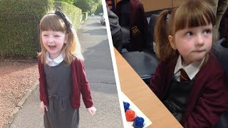 Zwillinge werden am 1. Schultag getrennt. Doch was 5-Jähriger ohne sprechen gelingt, erstaunt alle.