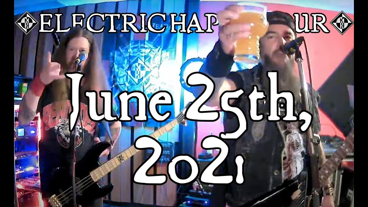 ELECTRIC HAPPY HOUR - June 25th, 2021