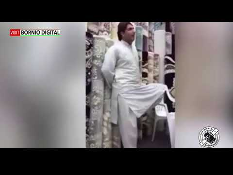 This video of a carpet seller in Mina Zayed market is going