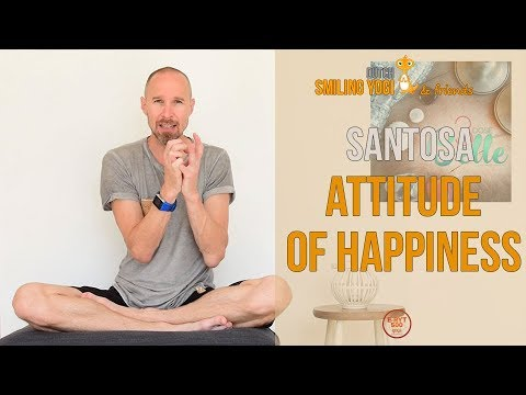An attitude of happiness - yoga philosophy