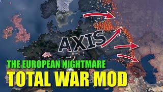 Total War Mod - WWII Hoi4 Timelapse