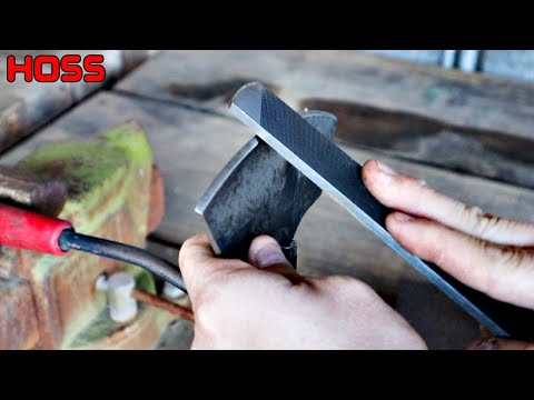 How to Sharpen Garden Tools the Easy Way!