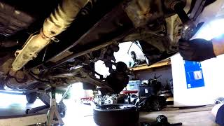N16 Nissan Sentra / Pulsar Gearbox Removal