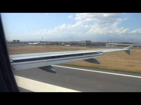 Взлет из Еревана