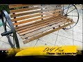 Restoration old Wooden Bench