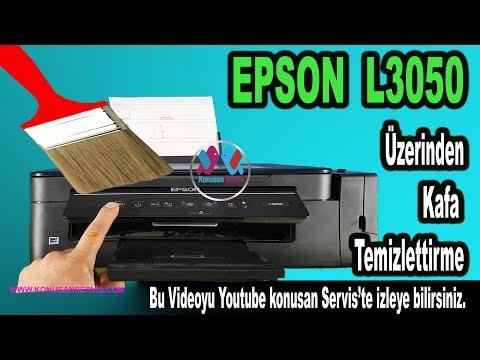 Epson L3050 Baskı Kafa Temizlettirme Üzerinden Nasıl Yapılır Bölüm 589