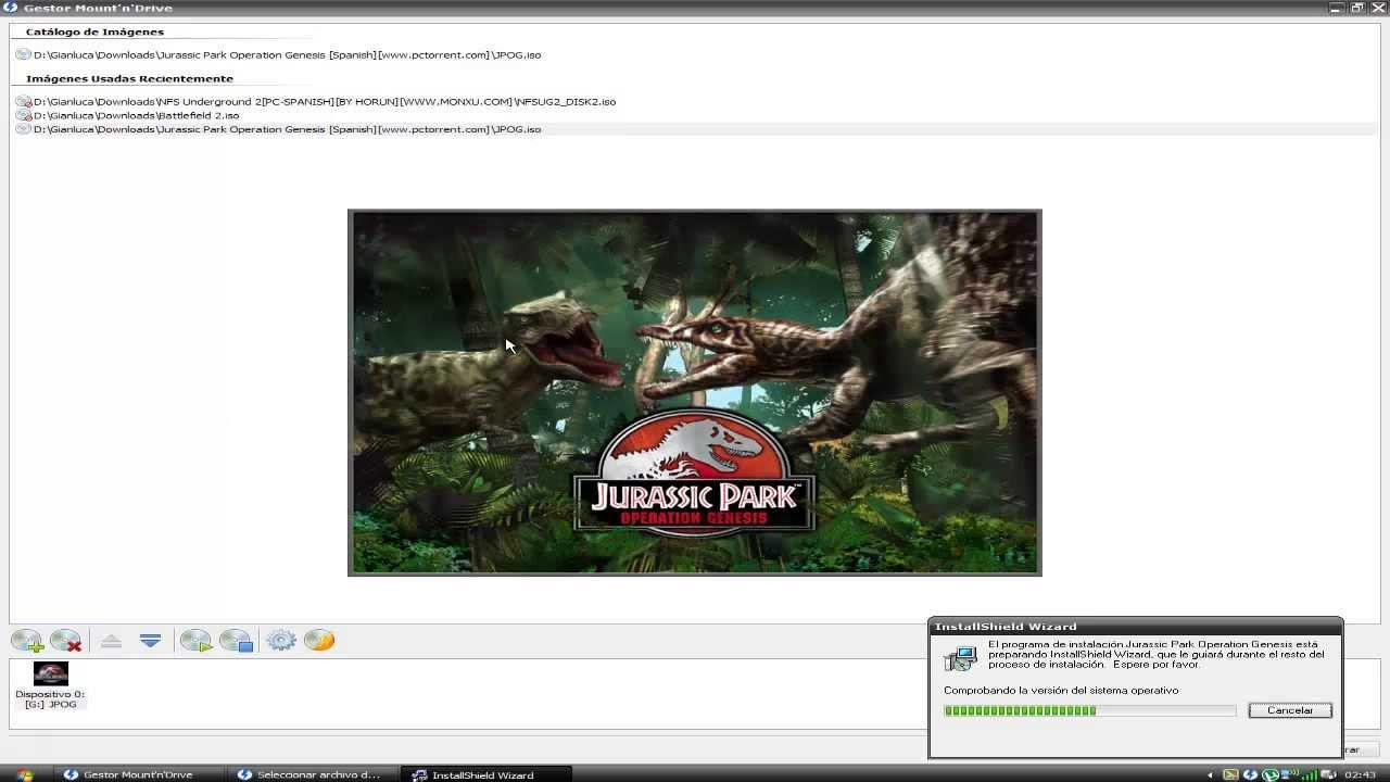 Descargar E Instalar Jurassic Park Operation Genesis Iso