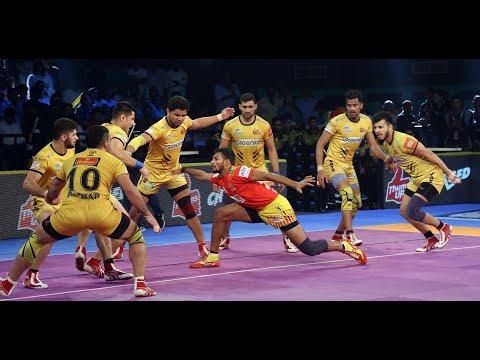 Pro Kabaddi 2018 Highlights:  Telugu Titans vs Gujarat Fortune Giants